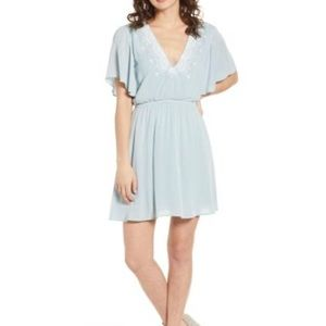 NWT BP Light Blue Mini Dress Sz S